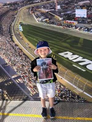 Kyle attended Daytona 500 - NASCAR Monster Energy Series on Feb 16th 2020 via VetTix