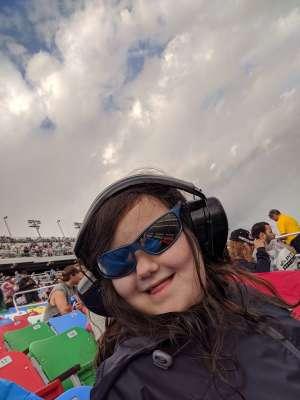 James attended Daytona 500 - NASCAR Monster Energy Series on Feb 16th 2020 via VetTix
