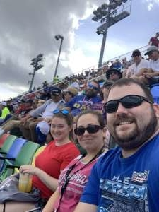 David attended Daytona 500 - NASCAR Monster Energy Series on Feb 16th 2020 via VetTix