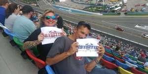 Kim attended Daytona 500 - NASCAR Monster Energy Series on Feb 16th 2020 via VetTix