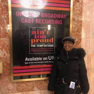 Valerie attended Ain't Too Proud -the Life and Times of the Temptations on Feb 11th 2020 via VetTix