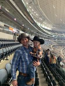 Joshua attended Winstar World Casino and Resort PBR Global Cup USA Presented by Monster Energy on Feb 16th 2020 via VetTix