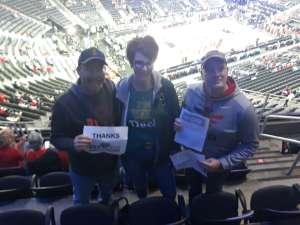 Julie attended Pac-12 Men's Basketball Tournament - Session 1 on Mar 11th 2020 via VetTix