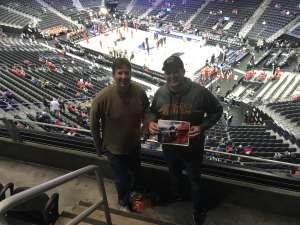 S. Robinson attended Pac-12 Men's Basketball Tournament - Session 1 on Mar 11th 2020 via VetTix