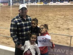 Kent E attended 67th Annual Parada Del Sol Rodeo on Mar 5th 2020 via VetTix