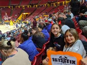 Michelle attended Arizona State Sun Devils vs. California - NCAA Women's Basketball on Feb 28th 2020 via VetTix
