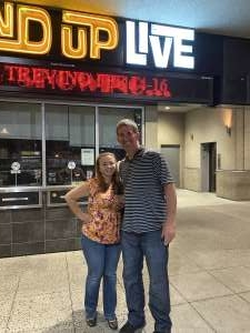 Jayson attended Stand Up Live on Mar 8th 2020 via VetTix