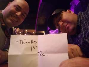 J. attended Stand Up Live on Mar 6th 2020 via VetTix