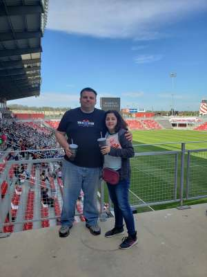Michael H attended Austin Gilgronis vs. Old Glory DC - Mlr ** Military Appreciation ** on Feb 29th 2020 via VetTix