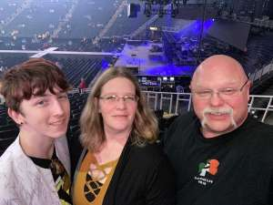 Jeff attended Tobymac Hits Deep Tour on Mar 8th 2020 via VetTix