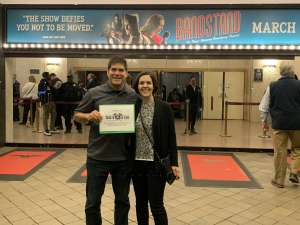 Jason G attended Bandstand on Mar 3rd 2020 via VetTix