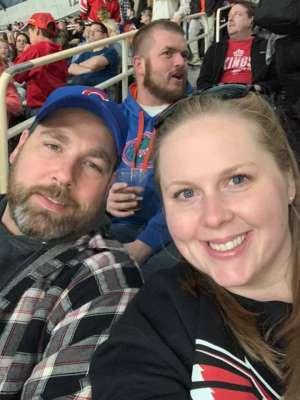 Felicia attended Charlotte Checkers vs. Utica Comets- AHL on Mar 7th 2020 via VetTix