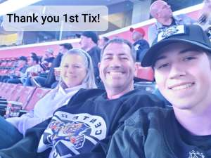 Ryan attended Florida Panthers vs. Calgary Flames - NHL on Mar 1st 2020 via VetTix