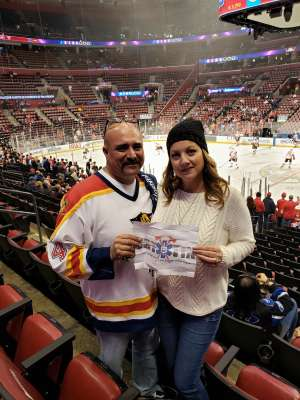 Chief Alex attended Florida Panthers vs. Calgary Flames - NHL on Mar 1st 2020 via VetTix