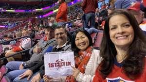 Sean attended Florida Panthers vs. Calgary Flames - NHL on Mar 1st 2020 via VetTix