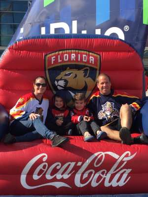 Dave S. attended Florida Panthers vs. Calgary Flames - NHL on Mar 1st 2020 via VetTix