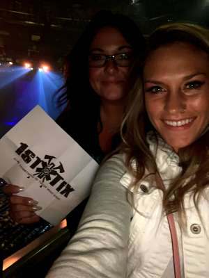 Paige attended The Lumineers - III the World Tour on Feb 26th 2020 via VetTix