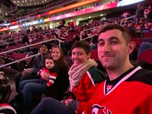 Mike J attended New Jersey Devils vs. St. Louis Blues - NHL on Mar 6th 2020 via VetTix