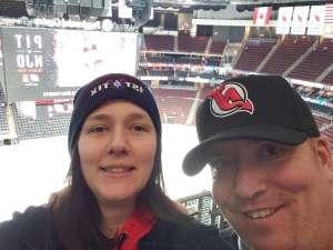 Eileen attended New Jersey Devils vs. St. Louis Blues - NHL on Mar 6th 2020 via VetTix