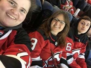 Theresa  attended New Jersey Devils vs. St. Louis Blues - NHL on Mar 6th 2020 via VetTix