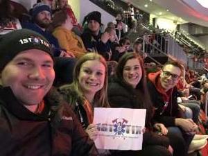Anthony attended New Jersey Devils vs. St. Louis Blues - NHL on Mar 6th 2020 via VetTix