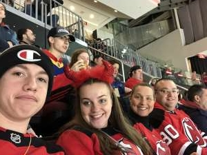 Chuck attended New Jersey Devils vs. St. Louis Blues - NHL on Mar 6th 2020 via VetTix