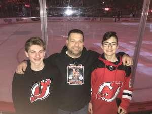 Mike attended New Jersey Devils vs. St. Louis Blues - NHL on Mar 6th 2020 via VetTix