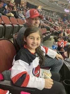 Ryan  attended New Jersey Devils vs. St. Louis Blues - NHL on Mar 6th 2020 via VetTix