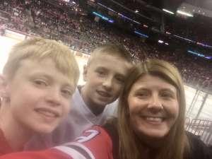 Carolyn attended New Jersey Devils vs. St. Louis Blues - NHL on Mar 6th 2020 via VetTix