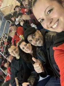 Elia attended New Jersey Devils vs. St. Louis Blues - NHL on Mar 6th 2020 via VetTix