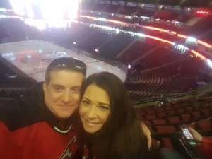 Matt attended New Jersey Devils vs. St. Louis Blues - NHL on Mar 6th 2020 via VetTix