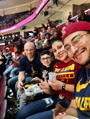 Josh attended Cleveland Cavaliers vs. San Antonio Spurs - NBA on Mar 8th 2020 via VetTix