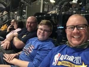 Iimmy attended Indiana Pacers vs. Charlotte Hornets - NBA on Feb 25th 2020 via VetTix