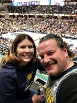 Michael attended Indiana Pacers vs. Charlotte Hornets - NBA on Feb 25th 2020 via VetTix