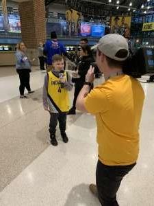 Matt attended Indiana Pacers vs. Charlotte Hornets - NBA on Feb 25th 2020 via VetTix