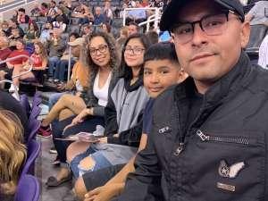 Gean attended Phoenix Suns vs. LA Clippers - NBA on Feb 26th 2020 via VetTix