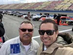 Brandyn attended Auto Club 400 - KB100 Kurt Busch Fan Appreciation Tickets - NASCAR Cup Series on Mar 1st 2020 via VetTix
