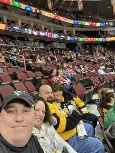 JA attended New Jersey Devils vs. Pittsburgh Penguins - NHL on Mar 10th 2020 via VetTix
