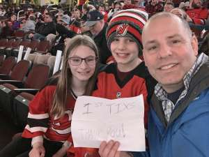 Dave attended New Jersey Devils vs. Pittsburgh Penguins - NHL on Mar 10th 2020 via VetTix