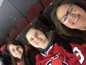 Theresa attended New Jersey Devils vs. Pittsburgh Penguins - NHL on Mar 10th 2020 via VetTix