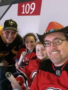 Charles attended New Jersey Devils vs. Pittsburgh Penguins - NHL on Mar 10th 2020 via VetTix