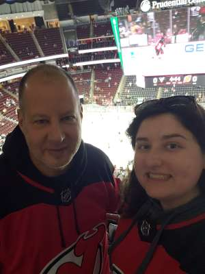 Randy attended New Jersey Devils vs. Pittsburgh Penguins - NHL on Mar 10th 2020 via VetTix