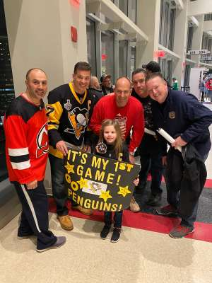 R. Schalen attended New Jersey Devils vs. Pittsburgh Penguins - NHL on Mar 10th 2020 via VetTix