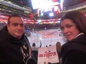 Marc attended New Jersey Devils vs. Pittsburgh Penguins - NHL on Mar 10th 2020 via VetTix