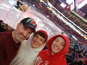 JF attended New Jersey Devils vs. Pittsburgh Penguins - NHL on Mar 10th 2020 via VetTix