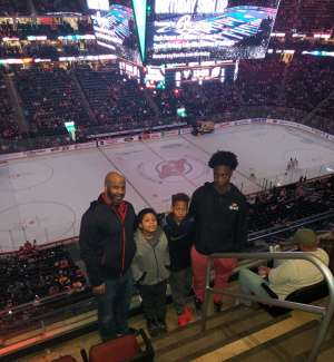 Teechey attended New Jersey Devils vs. Pittsburgh Penguins - NHL on Mar 10th 2020 via VetTix
