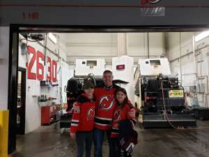 JS attended New Jersey Devils vs. Pittsburgh Penguins - NHL on Mar 10th 2020 via VetTix
