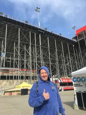 David attended Auto Club 400 - NASCAR Cup Series on Mar 1st 2020 via VetTix