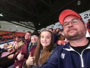 The Kendalls attended Kalamazoo Wings vs. Wheeling Nailers - ECHL on Mar 6th 2020 via VetTix