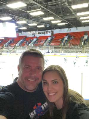 Jess attended Kalamazoo Wings vs. Wheeling Nailers - ECHL on Mar 6th 2020 via VetTix